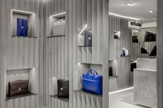 Adjaye Associates crimps concrete to clad a modest-sized retail space at Harrods - News - Frameweb