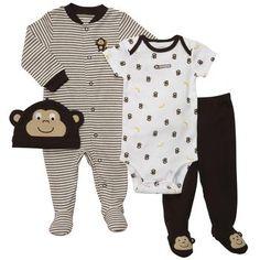 10ce51809 Preemie 4-piece Outfit Set Preemie Clothes, Newborn Boy Clothes, Baby Boy  Newborn