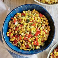 Fresh Corn Sauté with Red Pepper and Onions | MyRecipes.com