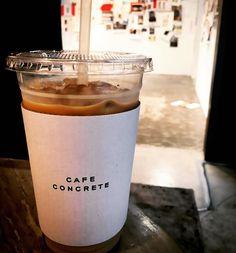 #카페콘크리트#cafeconcrete#스튜디오콘크리트 #studioconcrete#커피스타그램#카페라떼#한남동카페