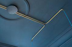 tolle Idee - elektische Leitungen durch´s Kupferrohr leiten! gesehen im: Café…