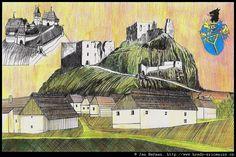 Rekonstrukce hradu ANDĚLSKÁ HORA Painting, Art, Historia, Art Background, Painting Art, Kunst, Paintings, Performing Arts, Painted Canvas