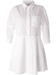 Acne 'dee Solid' Shirt Dress - Le Mill - Farfetch.com