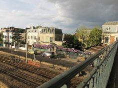 OTH 957 - Glycine vue du pont (avant l'orage)