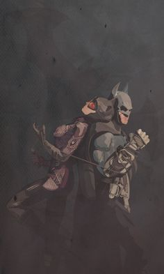 longlivethebat-universe:  Batman Arkham City by Mik4g (Love Vector) http://mik4g.deviantart.com/