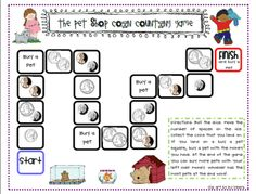 Here's a coin counting game with a pet shop theme.