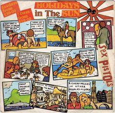 """Sex Pistols - Holidays in the Sun, 7"""" vinyl single, Virgin records, c.1977, #vinyl #punk"""