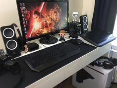 Here is a mini Desk Tour of my new Workstation and 4K Video Editing PC Setup as well as some of the gear in my YouTube Setup. Links to My Video Editing and Gaming PC Build below.  Also check my resource page: http://ift.tt/23f2PwB  This Desk setup is #DeskWars worthy in my opinion. Between my Stormtrooper 4K Video Editing PC and the minimalist look and feel of the whole workstation just feels right.  At some point I will give yous a proper office tour but this video is not a full office tour…