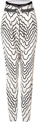 Marc by Marc Jacobs Radio Waves Printed Pants - Shop for women's Pants -  Pants