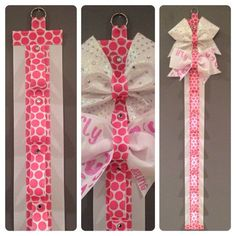 how to make a cheer bow holder - Google Search