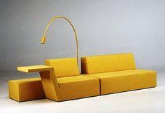 Oasis, a Minimalist Sofa by Bram Boo for F