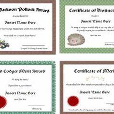 homemade gag gifts certificate