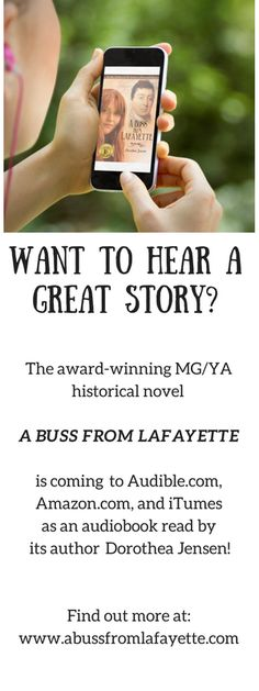 It took three months of intense effort, but I finally finished recording A BUSS FROM LAFAYETTE. It was such fun, if a tad grueling!
