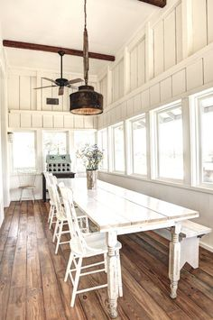 Tour of a modern farmhouse + decorating tips and ideas