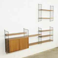 Located using retrostart.com > String Wall Unit by Nisse Strinning for String Design AB
