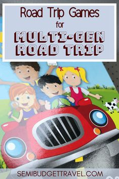 Road Trip Games for Multi-Gen Road Trip - Road trip games for family, for teenagers, for kids, with friends. Travel Packing, Budget Travel, Travel Usa, Travel Tips, Travel With Kids, Family Travel, Family Vacations, Scavenger Hunt For Kids, Road Trip Games