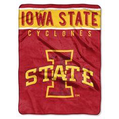 New! Iowa State Cyclones Blanket 60x80 Raschel Basic Design #IowaStateCyclones