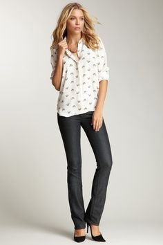 AG Ballad Bootcut Jean by Denim Obsession on @HauteLook
