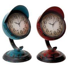 2 piece hugo table clock set