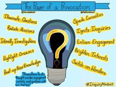 The power of provocation