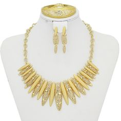 Find More Jewelry Sets Information about Dubai Arabic Gold Plated Jewelry Set New Fashion Necklace Jewelry 18K Gold Plated Earrings Necklace Set for Women Gift,High Quality jewelry ring display trays,China jewelry settings catalog Suppliers, Cheap jewelry piercing from YIWU  CZ Jewelry  Co. on Aliexpress.com