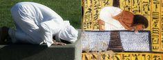O Islão bebeu da secular espiritualidade Áfrikana, não é uma mera coincidência, mas, sim, foi uma tradição da Espiritualidade dos antigos kemetic the people original Faraônicos….