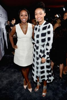 Aja Naomi King and Yara Shahidi