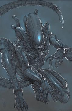 Xenomorph Alien by ChrisOzFulton.deviantart.com on @DeviantArt