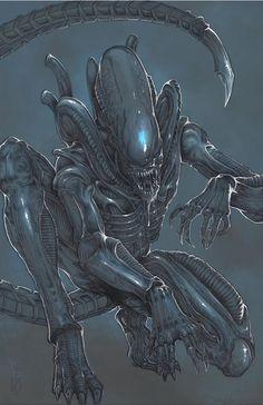 Xenomorph Alien by ChrisOzFulton.deviantart.com on @DeviantArt