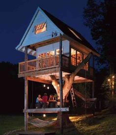 DIY: Building a tree house