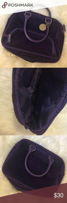 Purple corduroy Ralph Lauren Purse Perfect condition. Corduroy purse. Ralph Lauren Bags Mini Bags