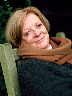 """It's true I don't tolerate fools but then they don't tolerate me, so I am spiky. Maybe that's why I'm quite good at playing spiky elderly ladies."" -Maggie Smith"