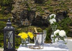 Friendly hospitality and services allow our guests to unwind and surrender to the magic of nature, in a place of significant historic value. Village Photos, Wedding Locations, Greece, Traditional, Table Decorations, Luxury, Gallery, Places, Home Decor