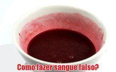 Como fazer sangue falso caseiro - Halloween #dicas #comofazer #halloween #maquiagem #caseiro #fantasias