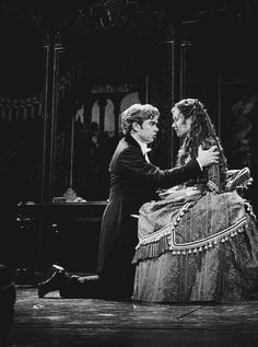"I love these two. Everyone else is like ""the Phantom and Christine!"" But nah Raoul and Christine are my OTP"