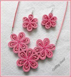 Rózsaszín virágos szett.