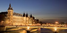 See the sights of Paris lit up at night from the comfort of your chartered boat.
