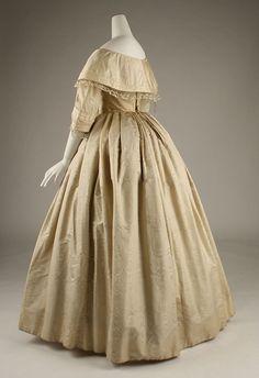 The Met 1850s Fashion, Victorian Fashion, Vintage Fashion, Historical Costume, Historical Clothing, Historical Dress, 19th Century Fashion, Costume Institute, Fashion Plates