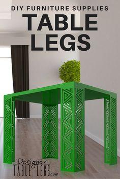 Pharaoh Spiral Green Table Legs   Www.designertablelegs.com   DIY Furniture  Supplies Ikea