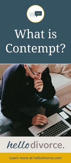 #Contempt legal actions are sometimes used in a #California #Divorce to enforce an order. Learn more here!