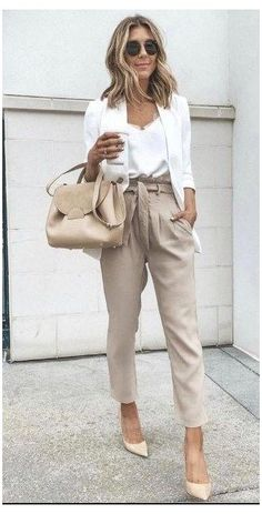 Business Casual Outfits For Women, Stylish Work Outfits, Work Casual, Semi Formal Outfits For Women, Semi Casual Outfit Women, Business Professional Outfits, Professional Work Clothes, Casual Style Women, Summer Business Casual