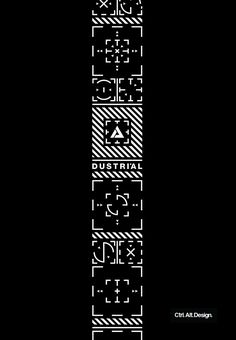 dustrial-inc: GEODUSTRIAL by ctrl-alt-design