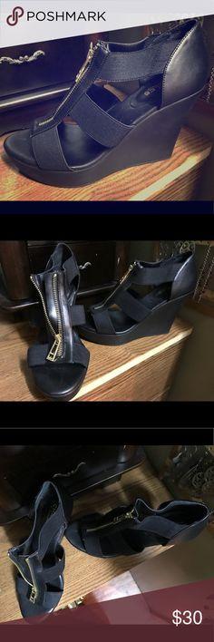 I just added this listing on Poshmark: Charles David Wedge Sandals. #shopmycloset #poshmark #fashion #shopping #style #forsale #Charles David #Shoes
