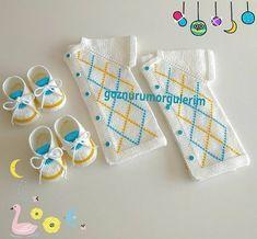 186 Likes, 8 Comments – Patishka Home Ev Tekstil (… - Baby Clothing Knitting For Kids, Sewing For Kids, Free Knitting, Baby Knitting, Crochet Baby, Knit Crochet, Baby Patterns, Knitting Patterns, Gifts For New Parents