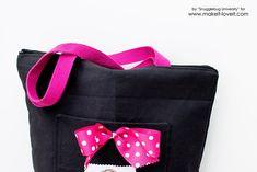 Zippered Tote Bag Tutorial   via www.makeit-loveit.com