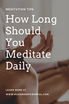 Meditation beginners often wonder how long they should be meditating to get results. There is a minimum duration for meditation to be effective. Mindfullness Meditation, Guided Mindfulness Meditation, Walking Meditation, Buddhist Meditation, Meditation Benefits, Mindfulness In Plain English, Cingulate Cortex, Brain Structure, Meditation For Beginners