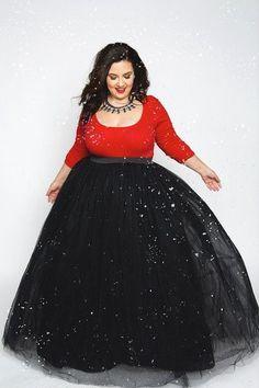 97dd5f9a4f6 Plus Size Fashion for Women - Plus Size Gal Tutu - Long Black (Sizes 1X