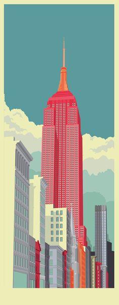 Illustrations of New York | Picame - #Design