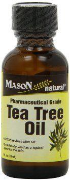 Mason Vitamins Tea Tree Oil 100% Pure Australian Oil Pharmaceutical Grade, 1-Ounce --- http://www.amazon.com/Mason-Vitamins-Australian-Pharmaceutical-1-Ounce/dp/B003II7BSU/?tag=affpicntip-20