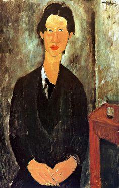 Amedeo Modigliani -  Portrait de Chaim Soutine